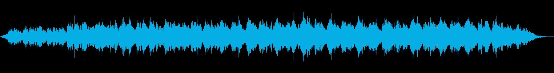 サイケデリックなギターアンビエントの再生済みの波形