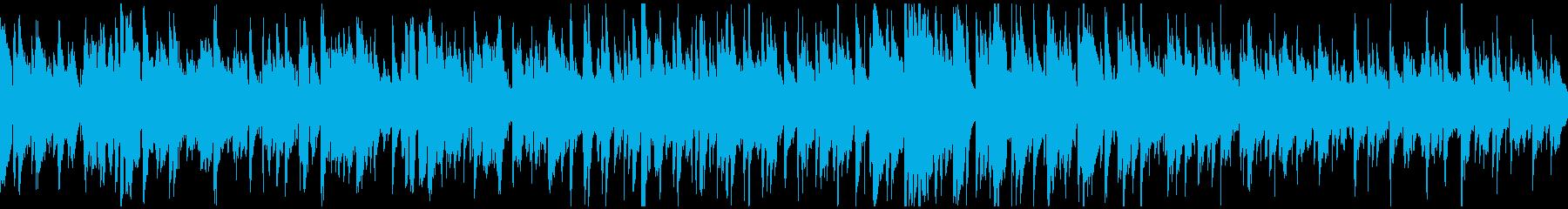 ピュアな雰囲気のボサノバジャズ※ループ版の再生済みの波形