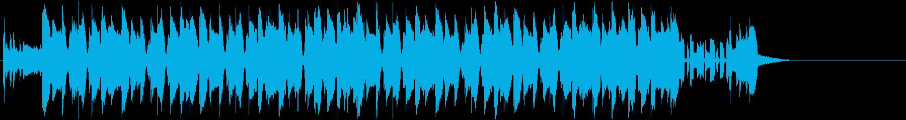 かわいらしく、軽快なピコピコ系和風EDMの再生済みの波形