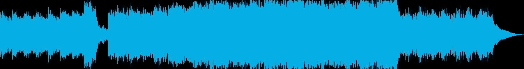 神秘的アンビエントの再生済みの波形