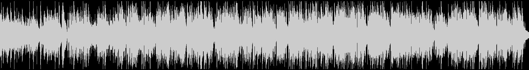 バリトンサックス生演奏のジャズ※ループ版の未再生の波形
