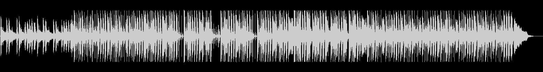 リズミカルでキャッチ―なポップサウンドの未再生の波形