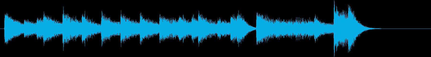 ひいらぎかざろうモチーフピアノジングルCの再生済みの波形