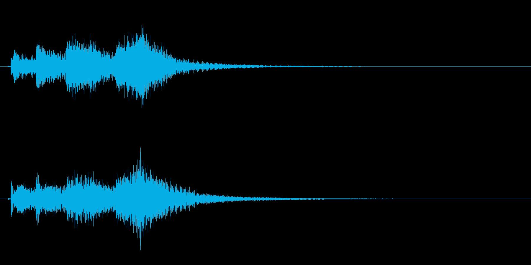 琴のフレーズ3☆調律2☆リバーブ有の再生済みの波形