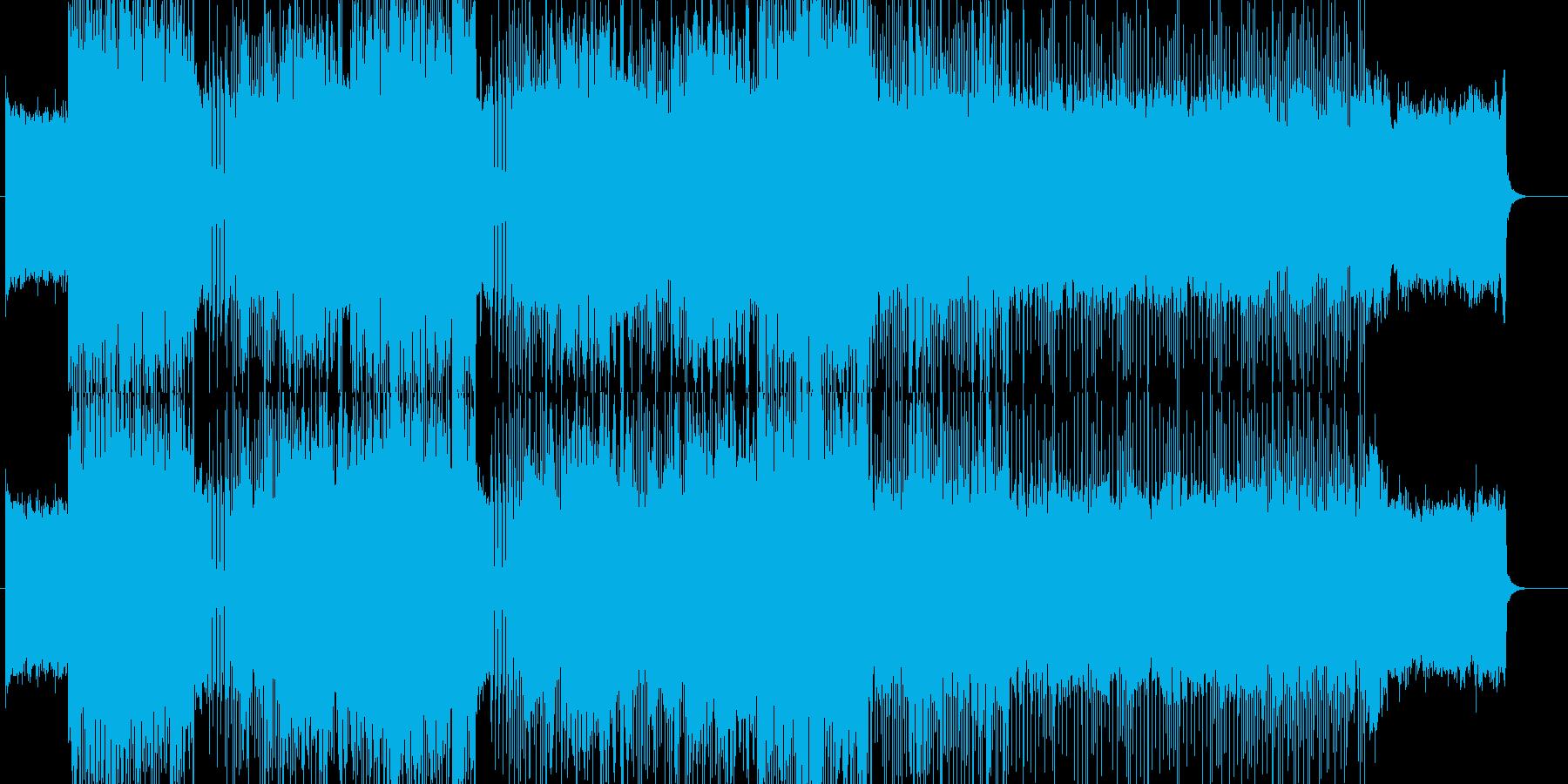 「HR/HM」「DEATH」BGM210の再生済みの波形