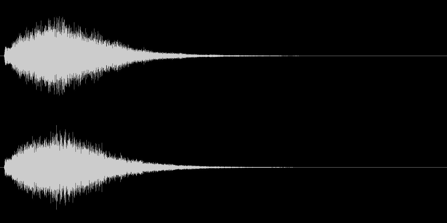 魔法・ポジティブ系キラキラ4の未再生の波形