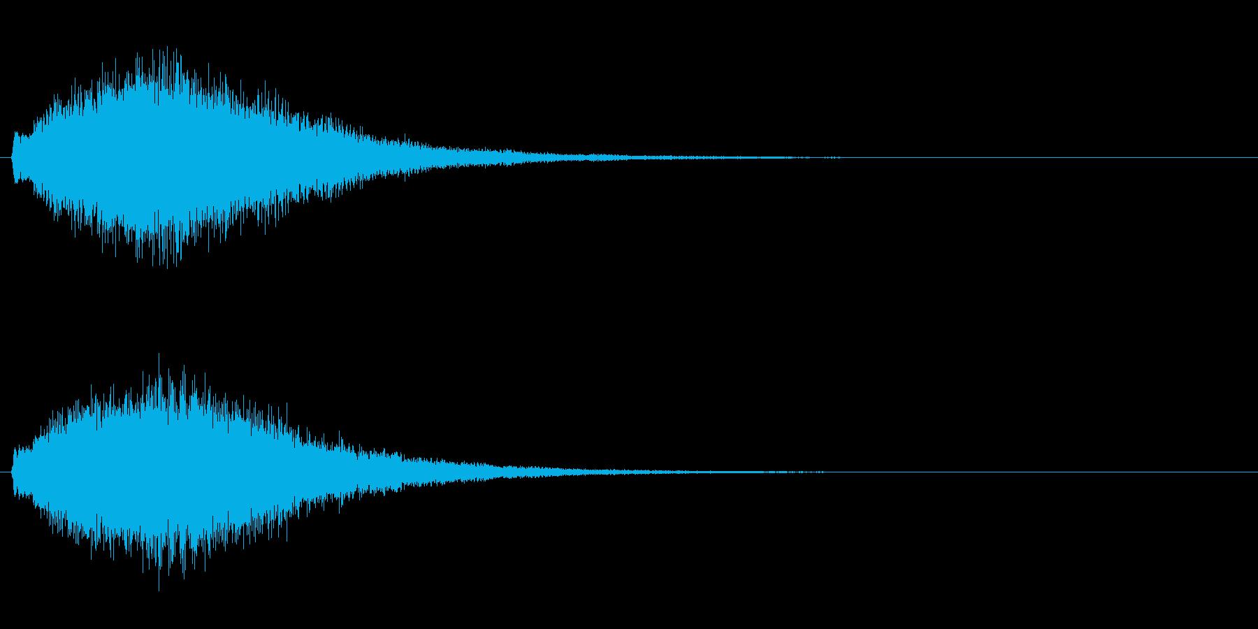 魔法・ポジティブ系キラキラ4の再生済みの波形