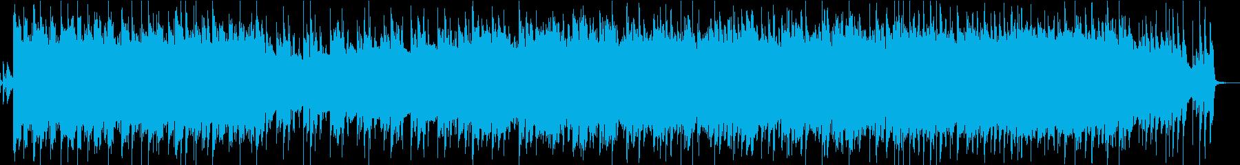明るくさわやかピアノとフルートの企業VPの再生済みの波形