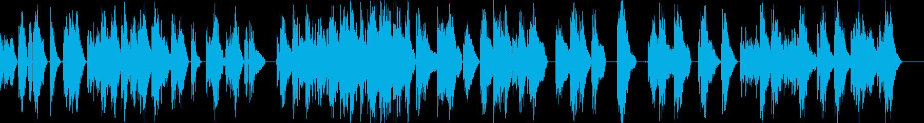 レーザーファイトショットハイピッチ...の再生済みの波形