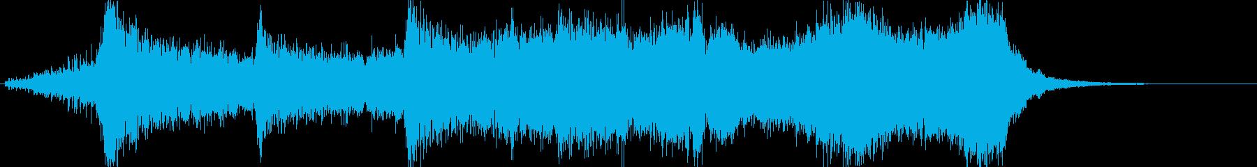 金管ファンファーレ 開会などの再生済みの波形