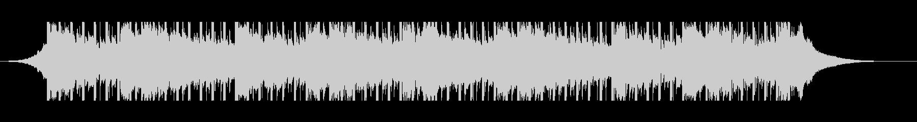 説明者のビデオ(45秒)の未再生の波形