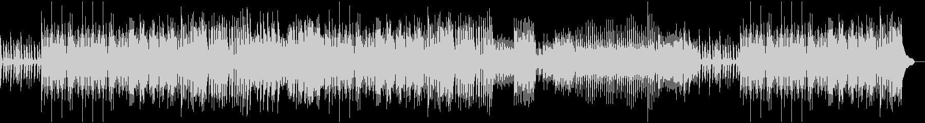エキゾチックなピアノソロの未再生の波形