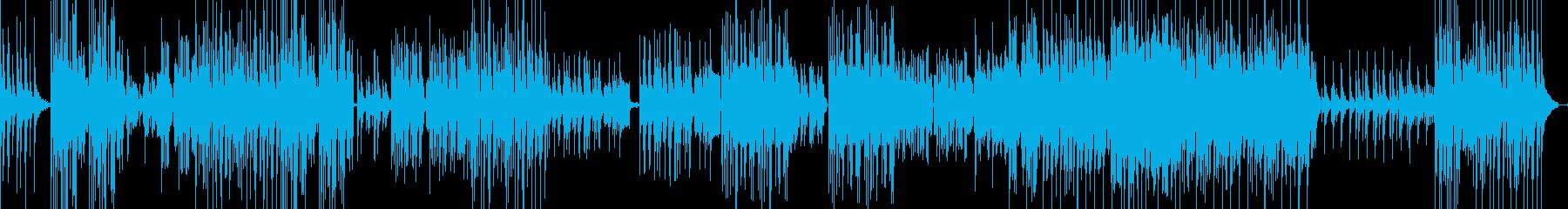 古いピアノが奏でる軽快なサウンドの再生済みの波形