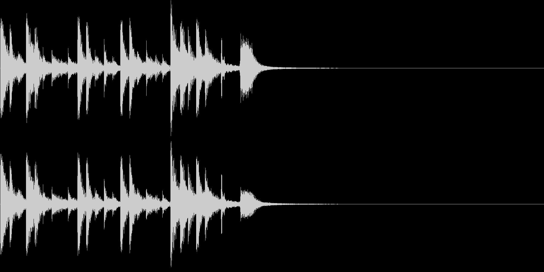 ドラム:ドラムフィルまたはコメディ...の未再生の波形