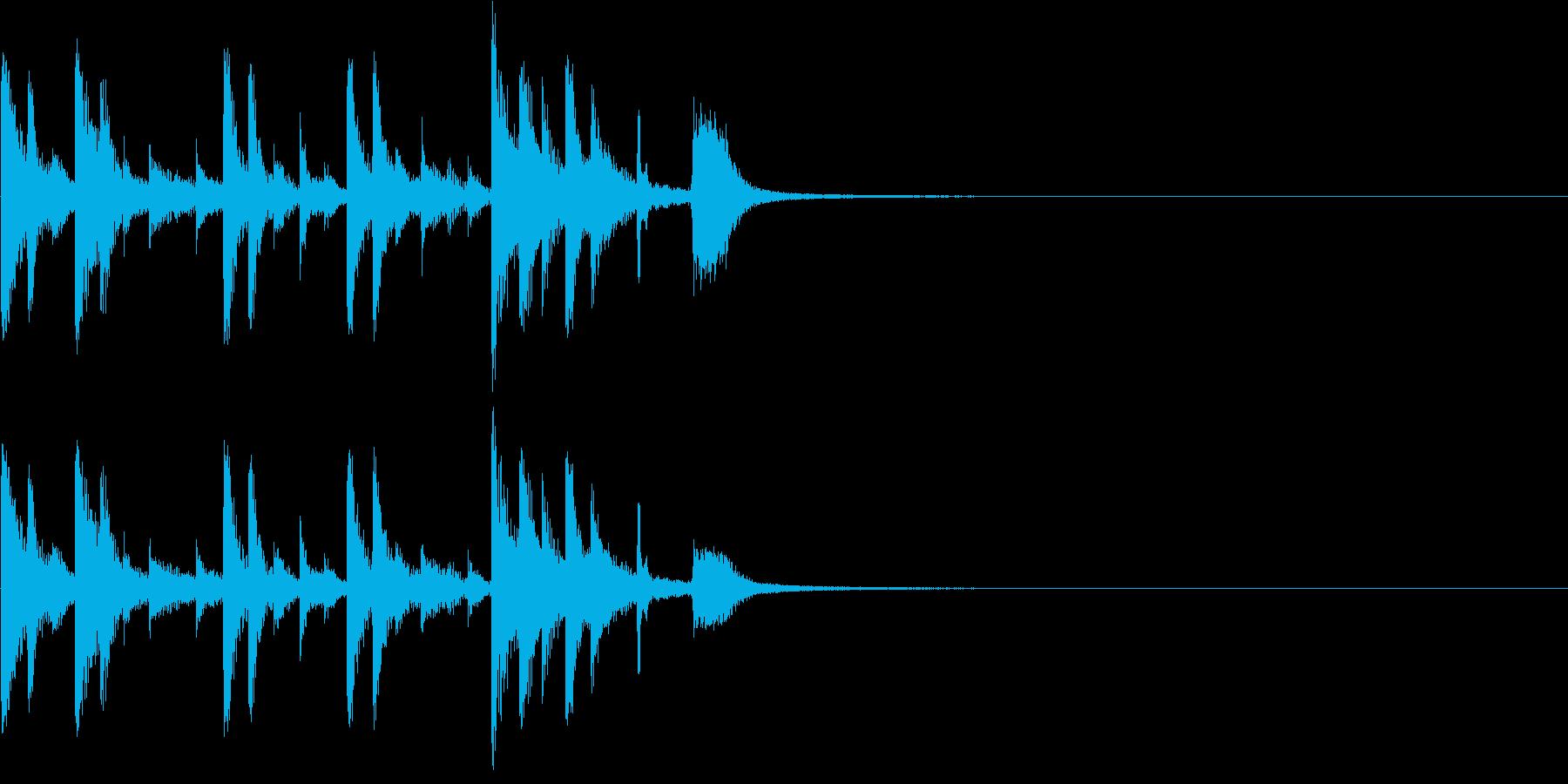 ドラム:ドラムフィルまたはコメディ...の再生済みの波形