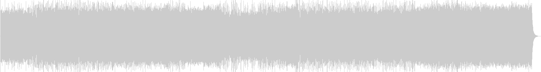 ポストロックのインストゥルメンタルの未再生の波形