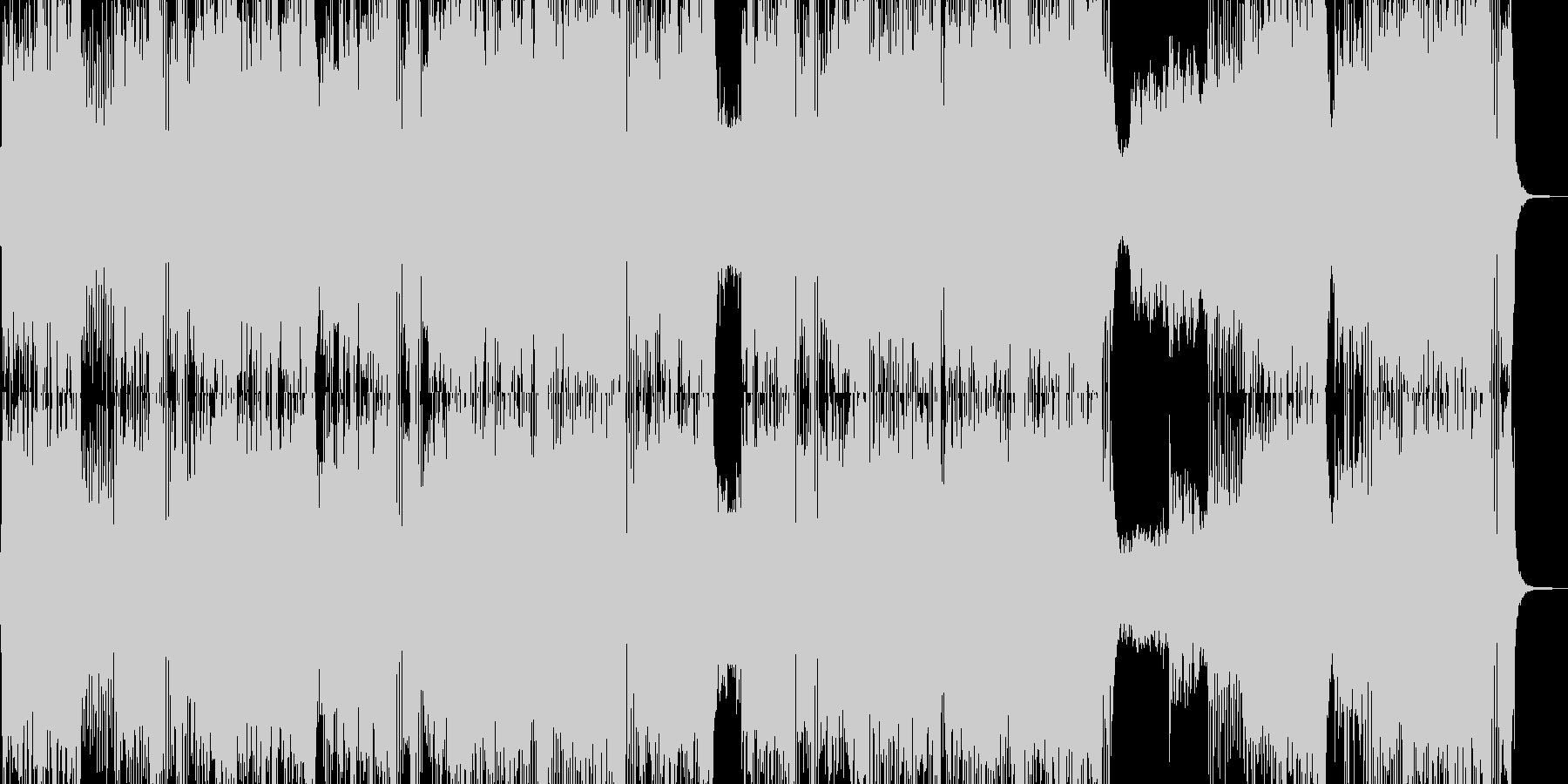 戦闘!オーケストラテクノ エレキ無・長尺の未再生の波形