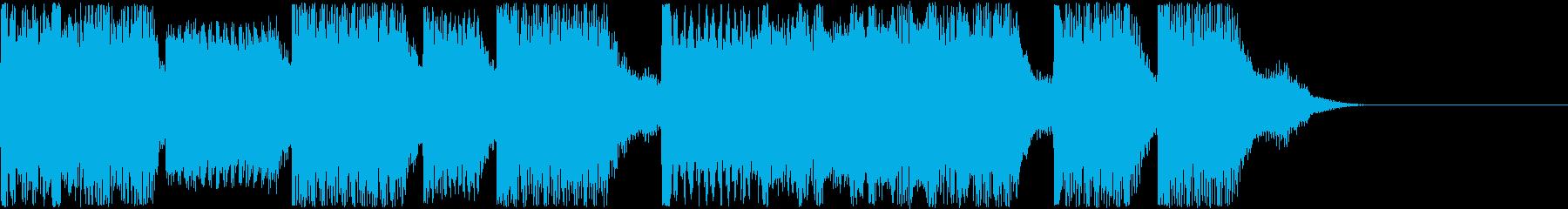AI メカ/ロボ/マシン動作音 4の再生済みの波形