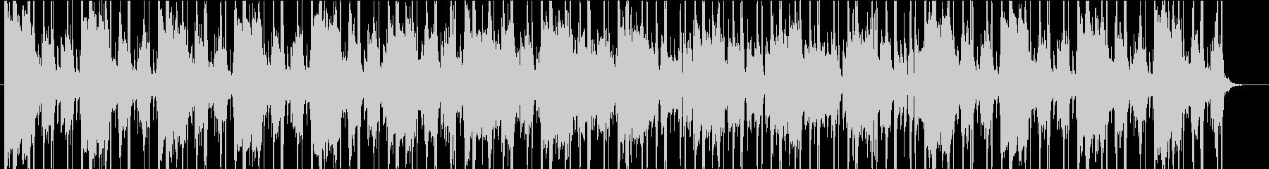 クールなヒップホップ曲 ピアノ ジャズ風の未再生の波形