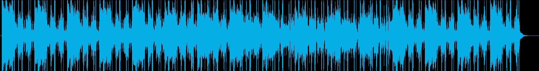 クールなヒップホップ曲 ピアノ ジャズ風の再生済みの波形