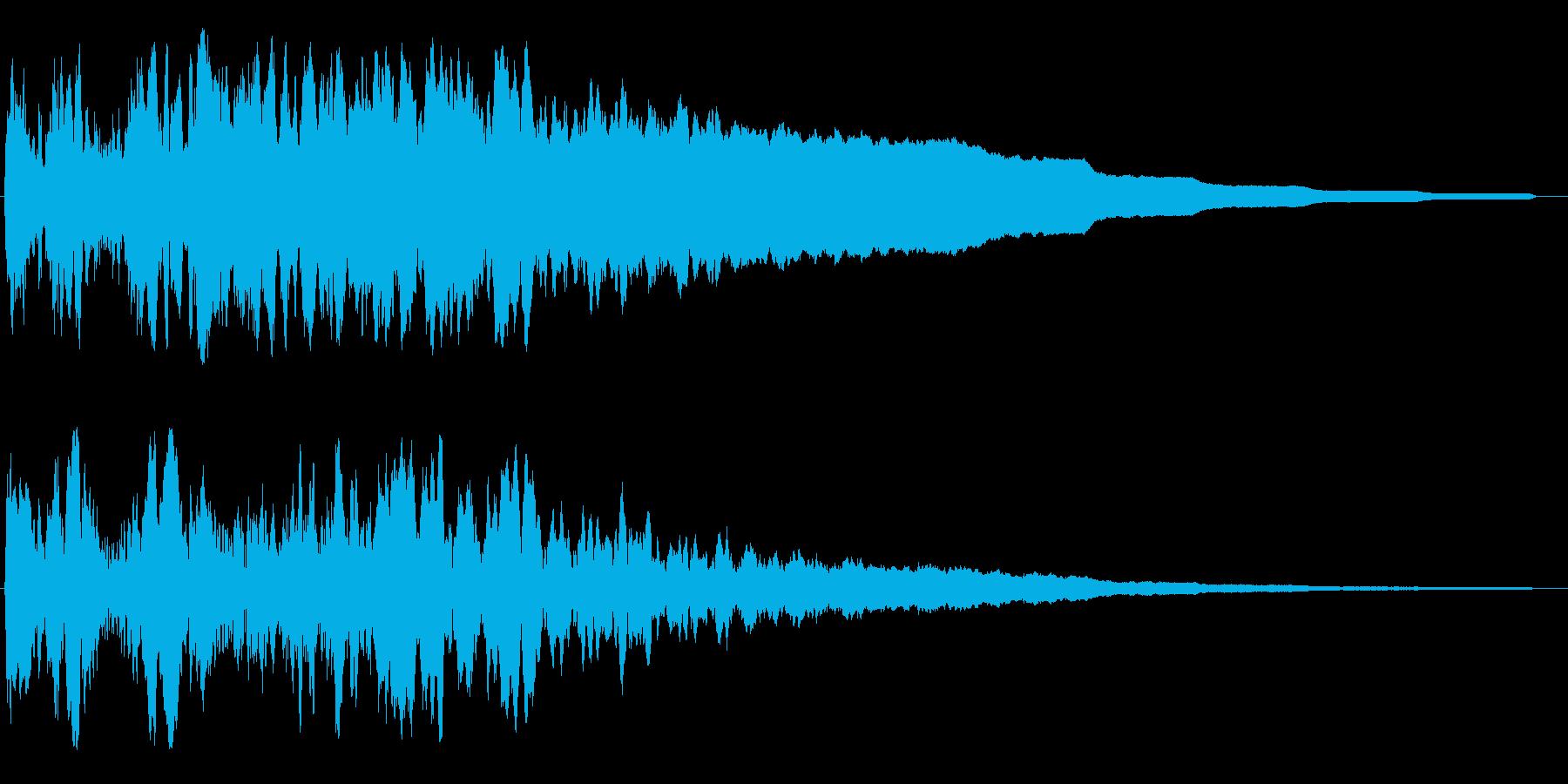 ビコーウォーン(特殊能力系等での効果音)の再生済みの波形