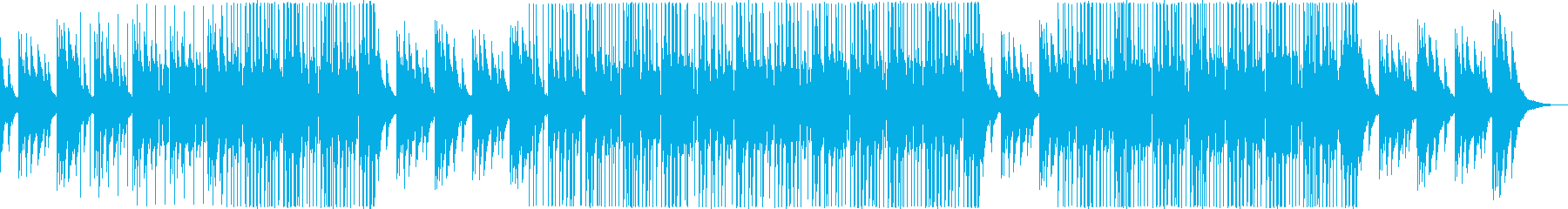 ムーディーで大人の雰囲気漂う洋楽R&Bの再生済みの波形