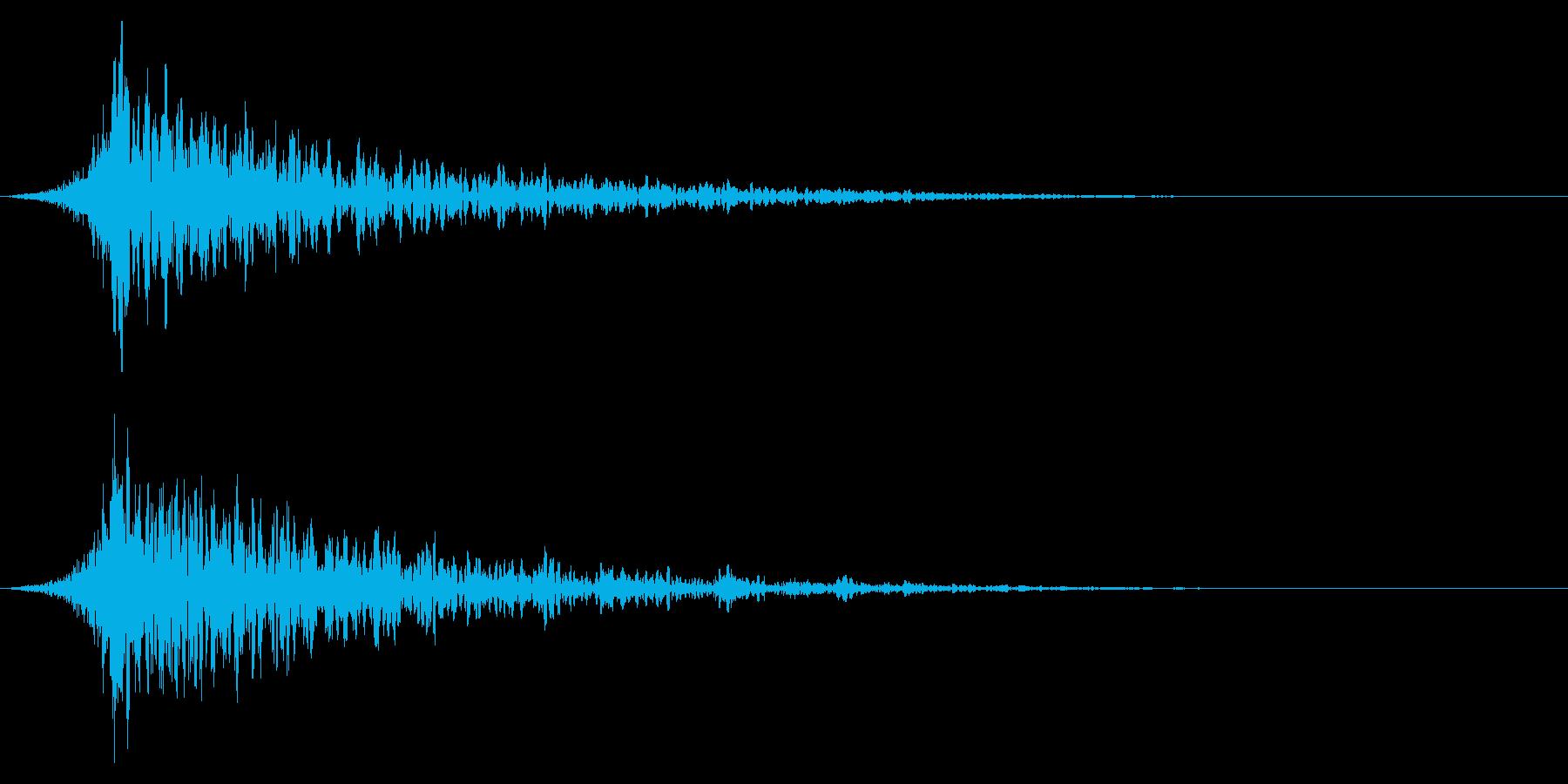 シュードーン-26-1(インパクト音)の再生済みの波形