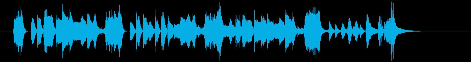 ワンちゃんネコちゃん集合♪の再生済みの波形