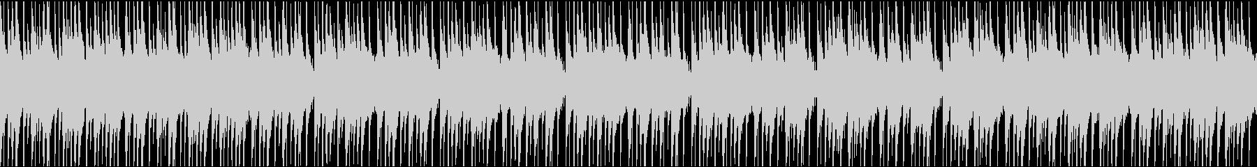 エジプト・アラビア・エスニックな曲ループの未再生の波形