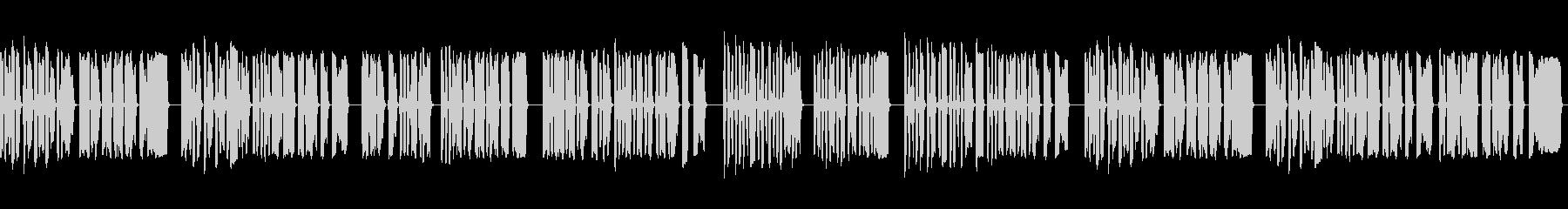 小学生の笛2の未再生の波形