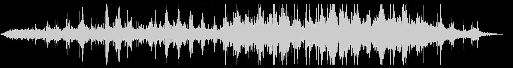 ドラマチックなピアノアンビエントの未再生の波形