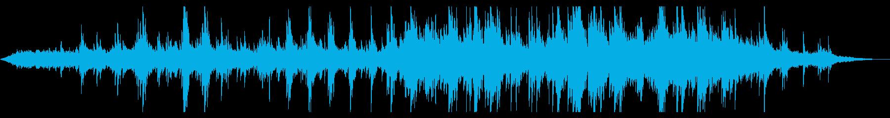 ドラマチックなピアノアンビエントの再生済みの波形
