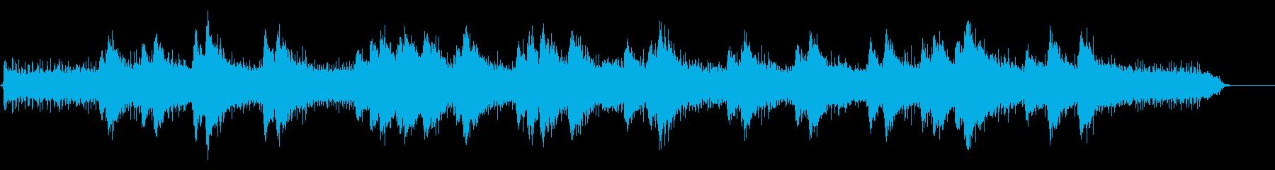 スノーモービルの起動、アイドリング...の再生済みの波形