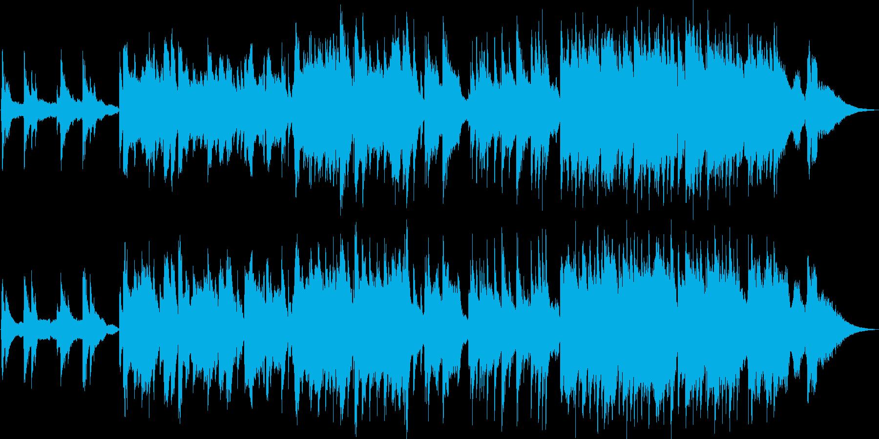 オーボエ主体の夕焼けが似合う人情ドラマbの再生済みの波形