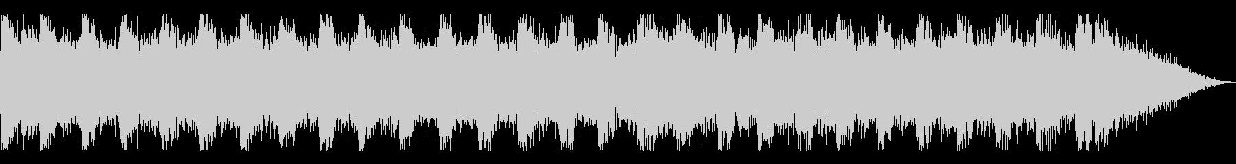 デジタルサウンドが印象なダンスロックの未再生の波形