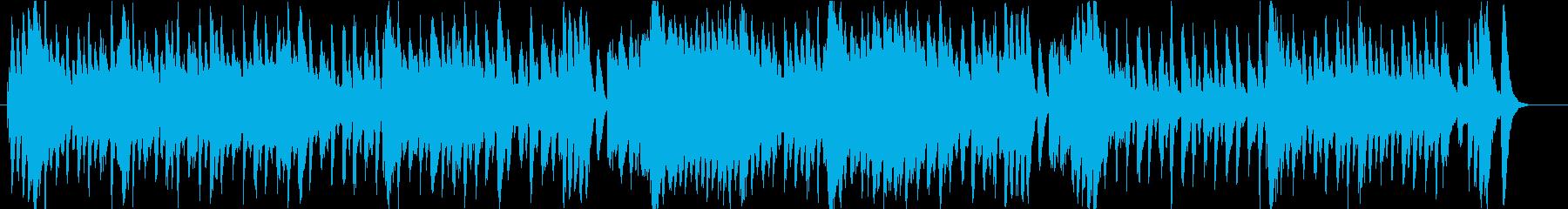 おどけた雰囲気のあるダークファンタジー曲の再生済みの波形
