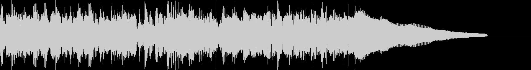 カントリー風ギターイントロ−07Bの未再生の波形
