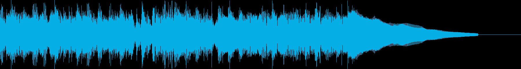 カントリー風ギターイントロ−07Bの再生済みの波形