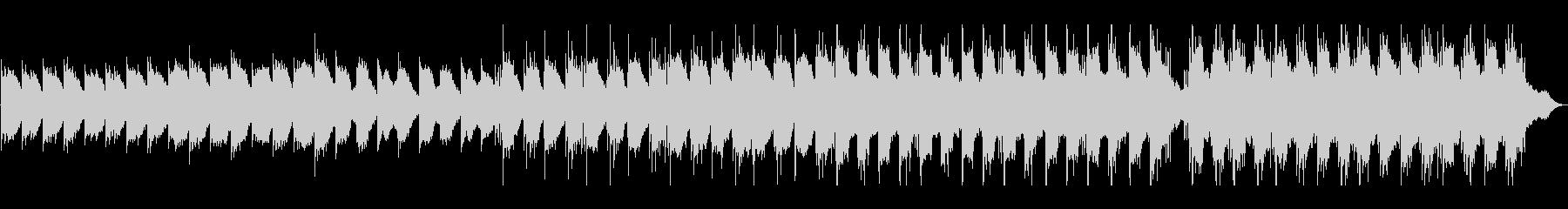 リラックスできるピアノ・エレクトロの未再生の波形