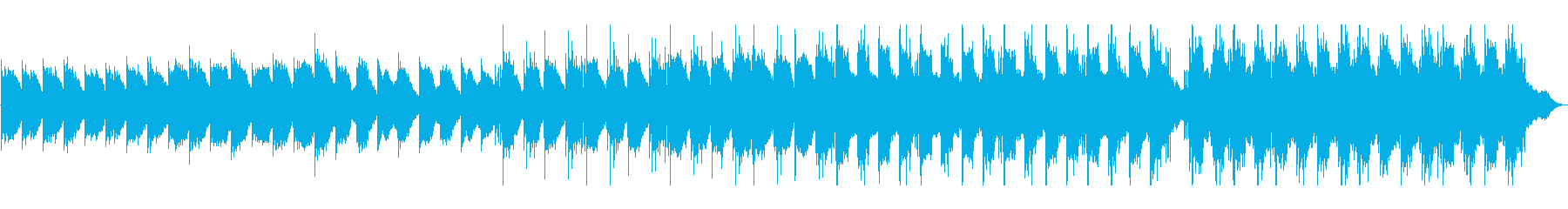 リラックスできるピアノ・エレクトロの再生済みの波形