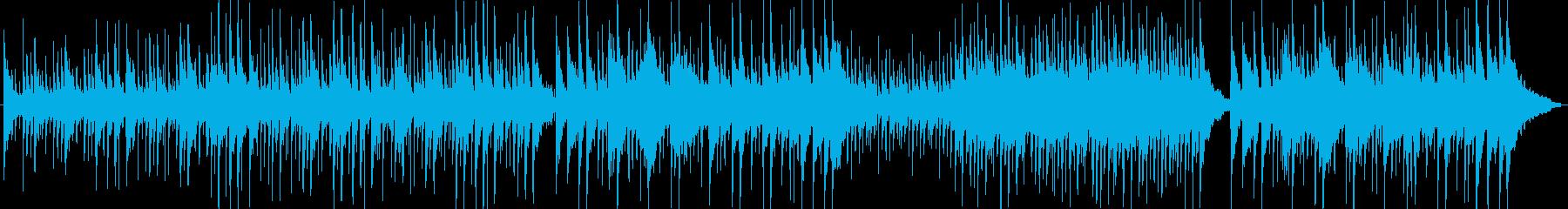 リラックスできる穏やかなメロディーの再生済みの波形