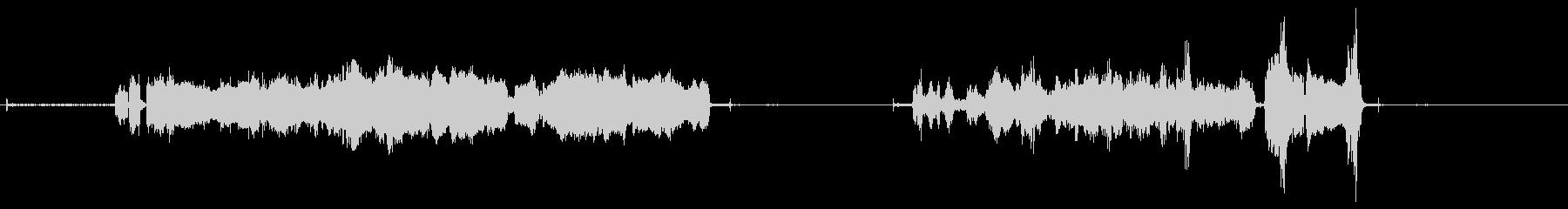 グラインダー、電気ディスクグライン...の未再生の波形