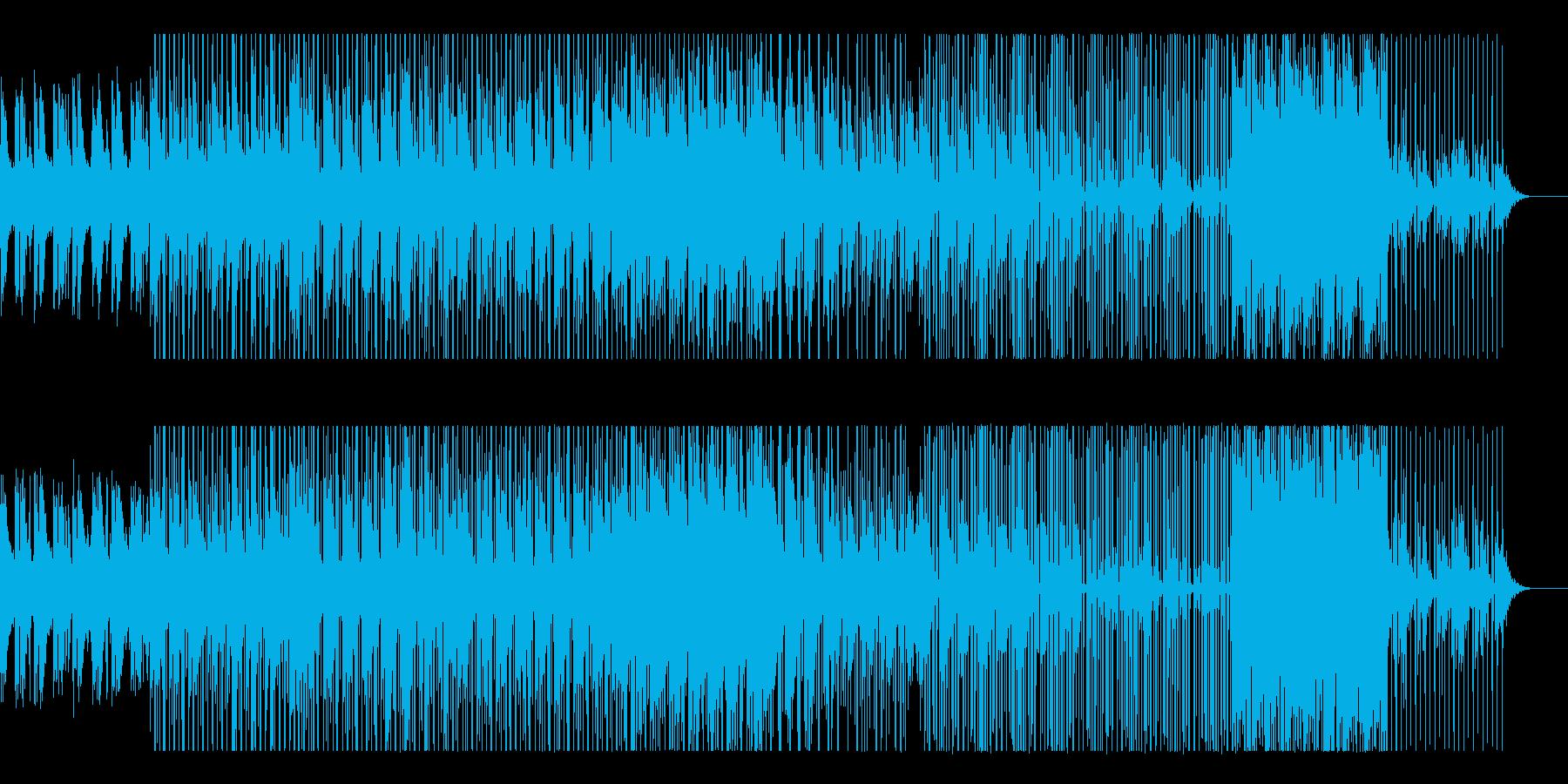 ローファイ・ヒップホップ Lofi の再生済みの波形