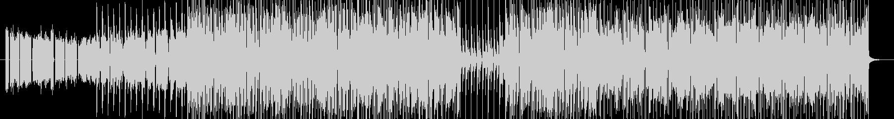 シンセの繰返しフレーズが印象的なEDMの未再生の波形