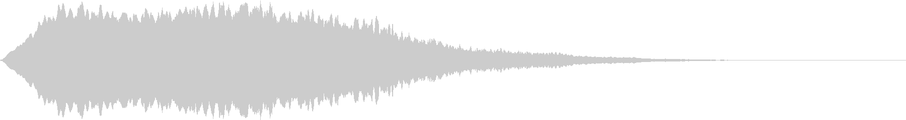 SFX ケミカルな昭和特撮風パッド 3の未再生の波形