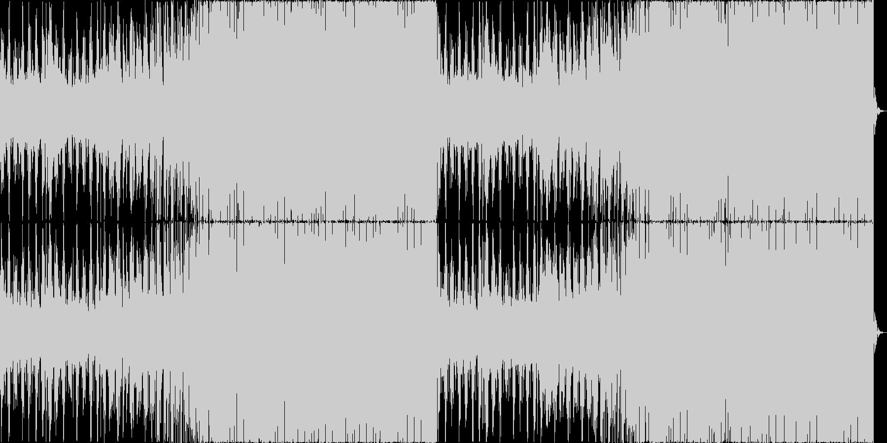 チルアウトクールなトロピカルハウスaの未再生の波形