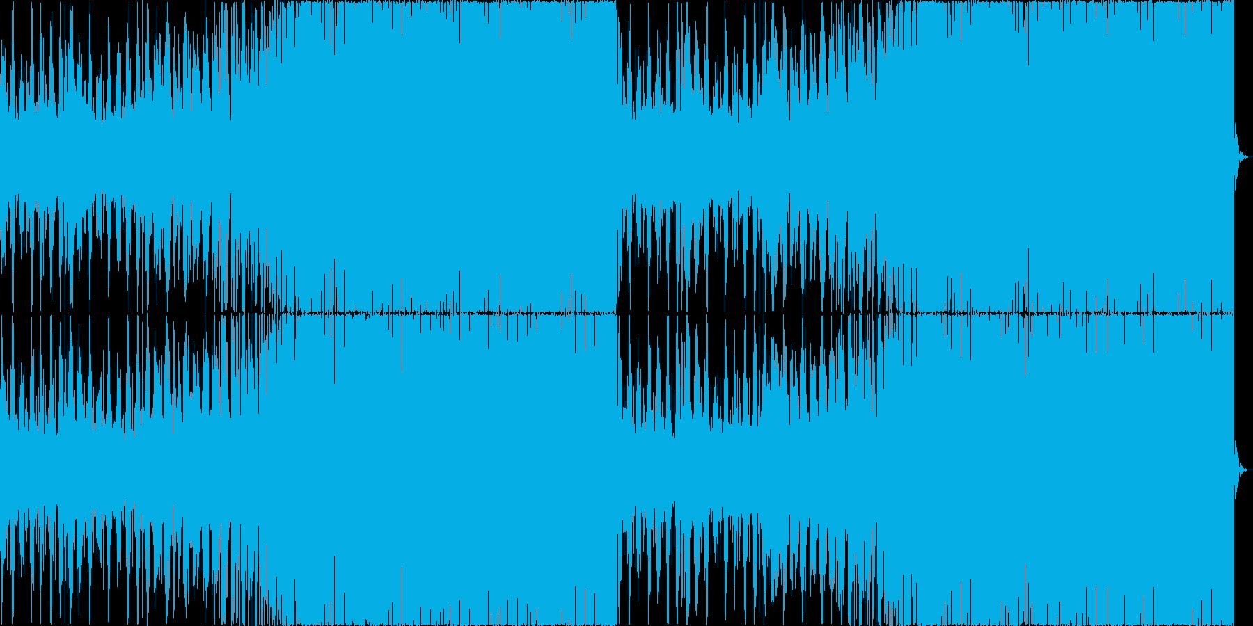 チルアウトクールなトロピカルハウスaの再生済みの波形