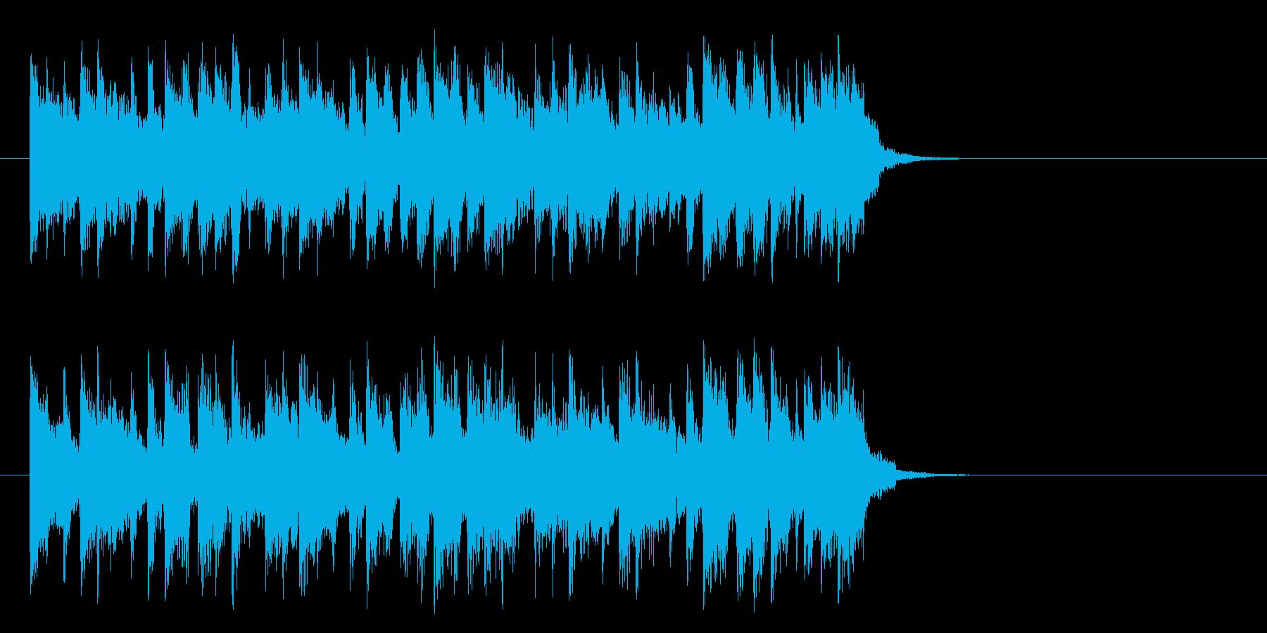 旅情漂うミディアムポップ(サビ)の再生済みの波形
