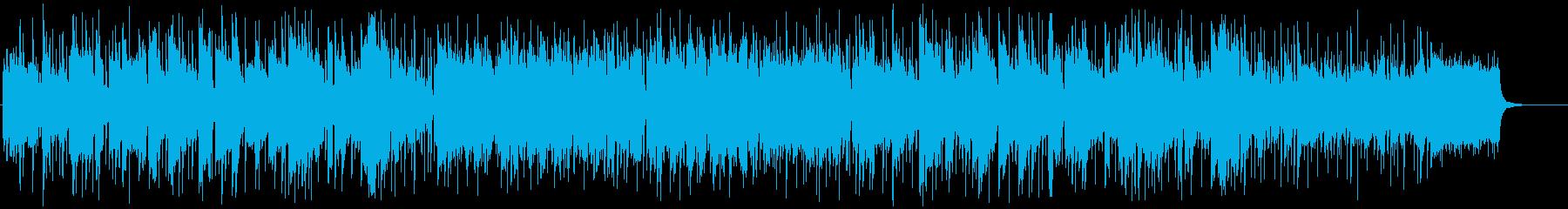 ボサノバチックな軽快なメロディーラインの再生済みの波形