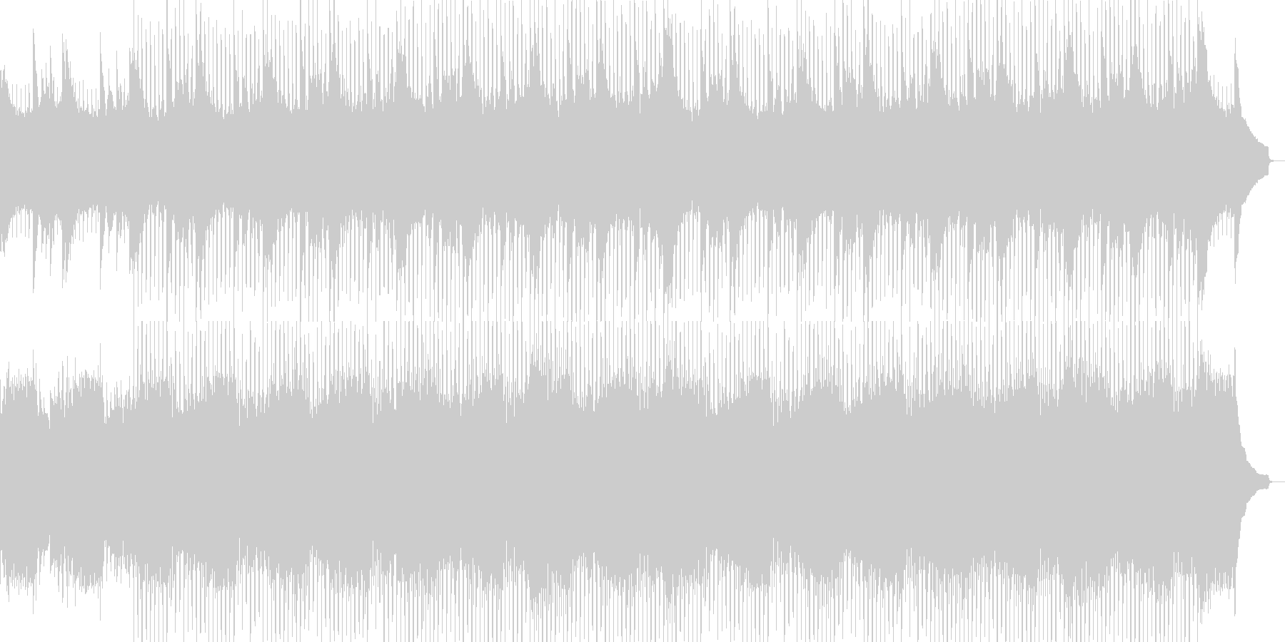 企業VP系52、爽やかピアノ4つ打ちaの未再生の波形